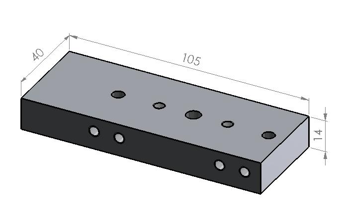 Kupplerplatte klein