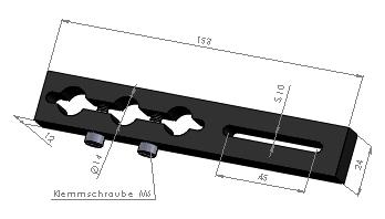 Halteplatte Größe 2.1