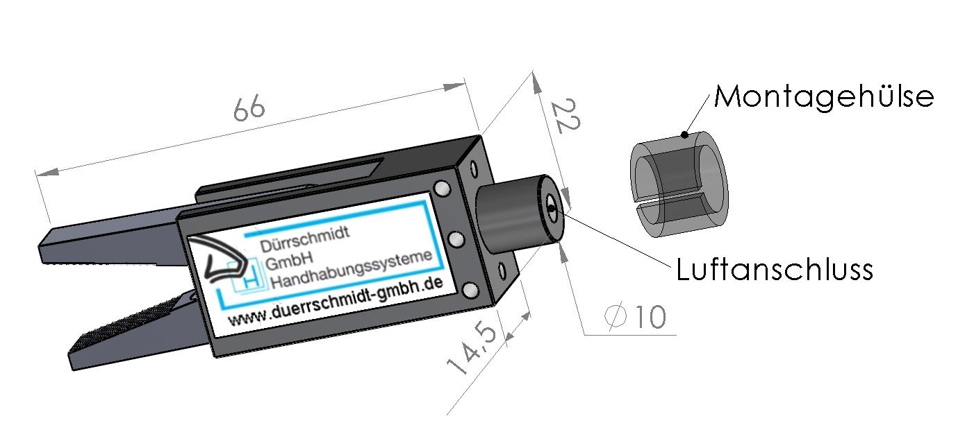 Kompaktspannzange WGRE-2
